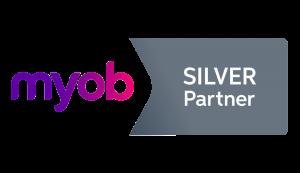 MYOB Silver Partner Logo